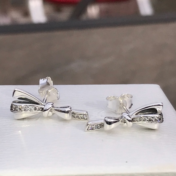d1a840ef8 Pandora Brilliant Bows Earrings. M_5c19cdd16a0bb7a06e7072d0. Other Jewelry  ...